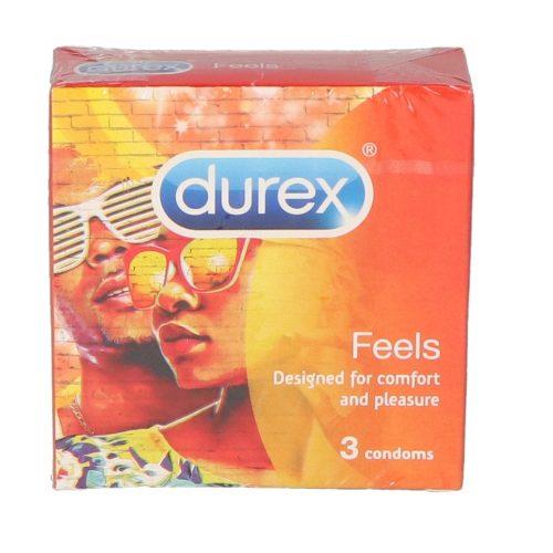 Durex óvszer 3 db -  Feels