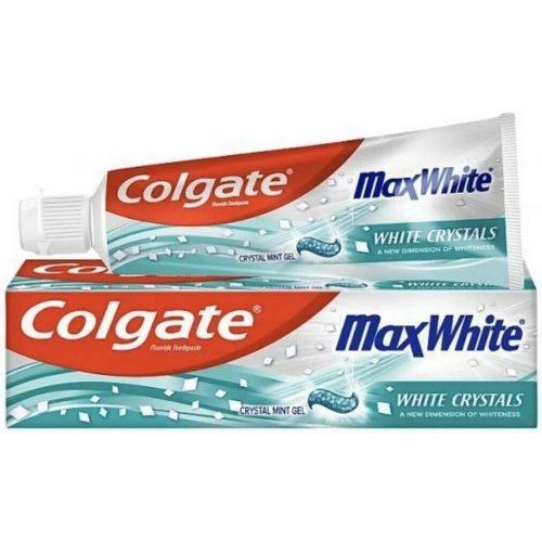 Colgate fogkrém 100 ml - Max White Whitening Crystals