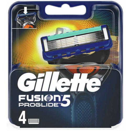 Gillette Fusion5 Proglide borotvabetét 4 db