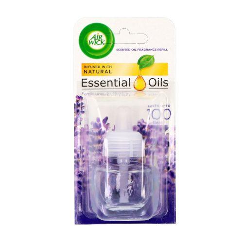 Air Wick elektromos illatosító ut. 19 ml - Essential oils Purple Lavender Meadow