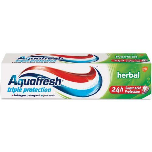 Aquafresh fogkrém 75 ml - Triple Protection Herbal