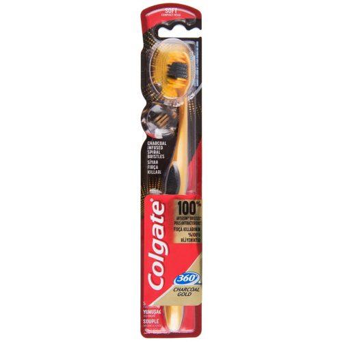 Colgate fogkefe 360° Charcoal Gold - Soft