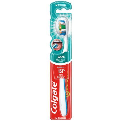 Colgate fogkefe 360° Whole Mouth Clean - Medium
